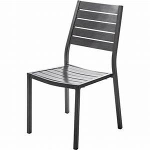 Chaise Et Fauteuil De Jardin : chaise et fauteuil de jardin mobilier de jardin au meilleur prix leroy merlin ~ Teatrodelosmanantiales.com Idées de Décoration