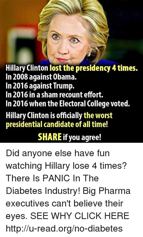 Hillary Lost Memes - 25 best memes about hillary losing hillary losing memes