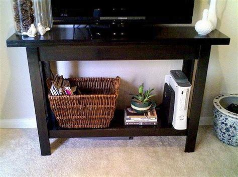 ana white kelseys simple cheap easy console table diy