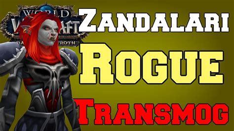 zandalari female troll transmog rogue warcraft