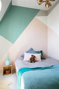 pastel color bedroom will make your feel like