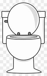 Toilet Clipart Clip Lid Clipartmax sketch template