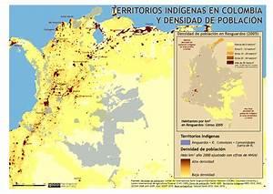 Grupos Indigenas De Colombia Mapa