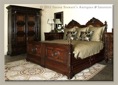 antique beds bedrooms historical origins antiques in