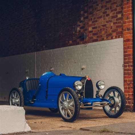 Introducing the bugatti baby ii: Bugatti Baby II Is a Smaller Type 35 Reimagined as an Electric Car