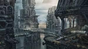 Space Spaceship Star Citizen Ruins Anvil Aerospace
