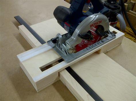 bosch  circular  crosscut jig pro construction