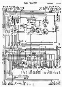 Wiring Diagrams Of 1959 Ford V8 Thunderbird  U2013 Auto