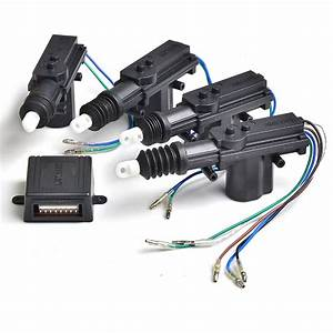 Car Central Locking System Car Door Lock Actuator Remote Control For Car Door Lock Dc 12v Power
