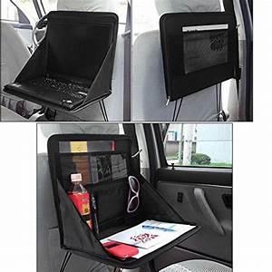 Attache Portable Voiture : kabalo pliable si ge arri re de voiture de stockage organisateur avec support d ordinateur ~ Nature-et-papiers.com Idées de Décoration