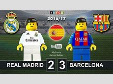Real Madrid vs Barcelona 23 • El Clasico • LaLiga 2017
