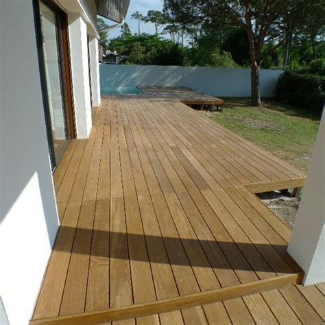 lame de terrasse bois exotique ipe 5790x145x21 mm