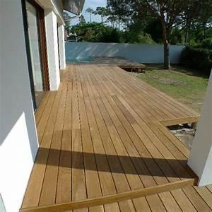 Terrasse En Ipe : lame de terrasse bois exotique ipe 3400x140x21 ~ Premium-room.com Idées de Décoration
