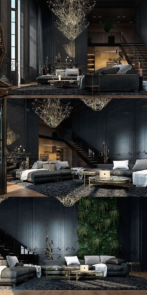 black walls   latest decorating trend