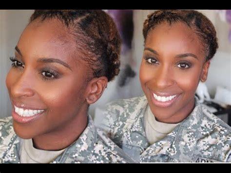 military hair  makeup tutorial youtube