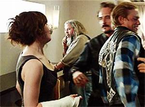 Couples - JaxღTara (Sons of Anarchy)#80: Because she's ...