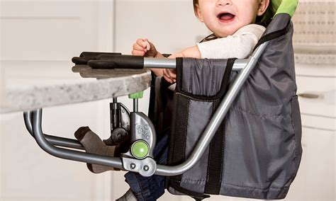 regalo attachable high chair regalo easy diner portable hook on highchair groupon
