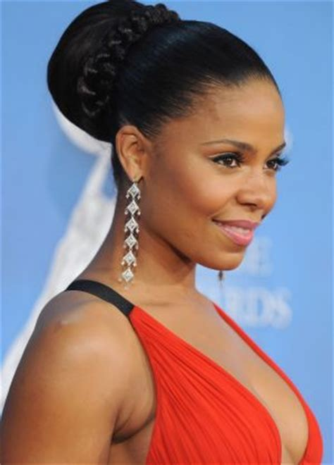 black wedding celebrity hairstyles black celebrity