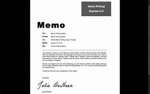 Writing A Professional Memo How To Write An Informal Memo Toughnickel