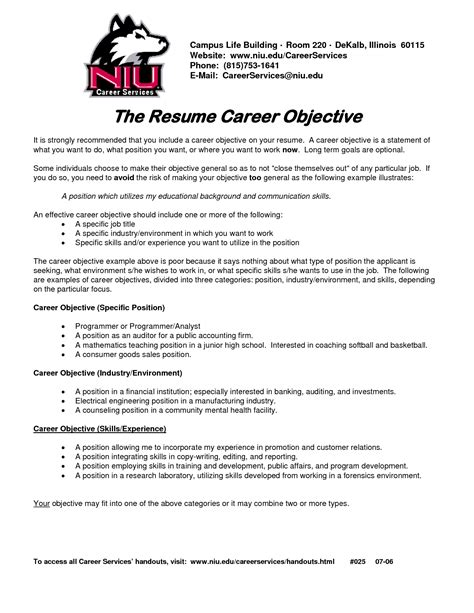 pin  trisan boudreau  resume resume objective sample