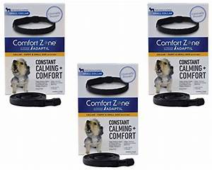 comfort zone 3 pack comfort zone adaptil collar for With comfort zone dog collar