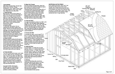 free gambrel shed plans 12x12 ulisa 10 x 12 gambrel shed plans popular mechanics