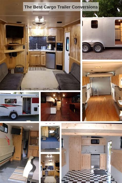 cargo trailer conversion camper enclosed utility build hauler toy inspire conversions converted trailers upgrades campers recent author