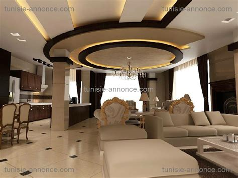 faux plafond design tunisie gascity for