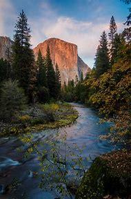 El Capitan Merced River Yosemite National Park
