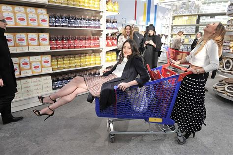 karl lagerfeld turns  grand palais   grocery store