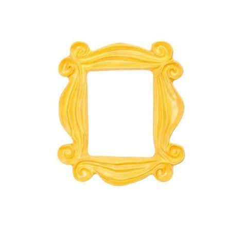 friends door frame handmade yellow peephole frame as seen on s door on