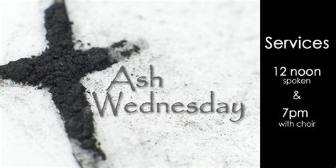 Ash Wednesday 2016 The Episcopal Church of the Holy