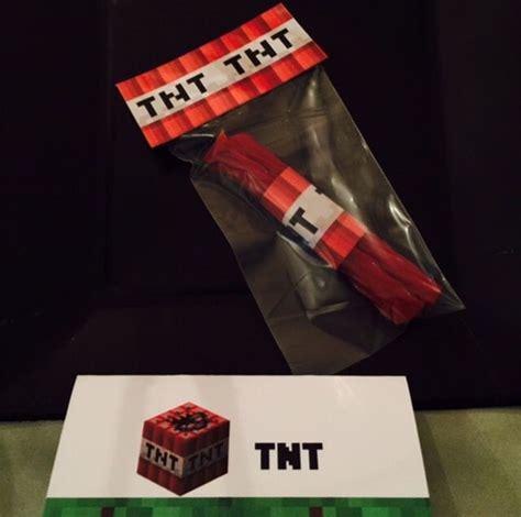 Licorice TNT Minecraft Labels
