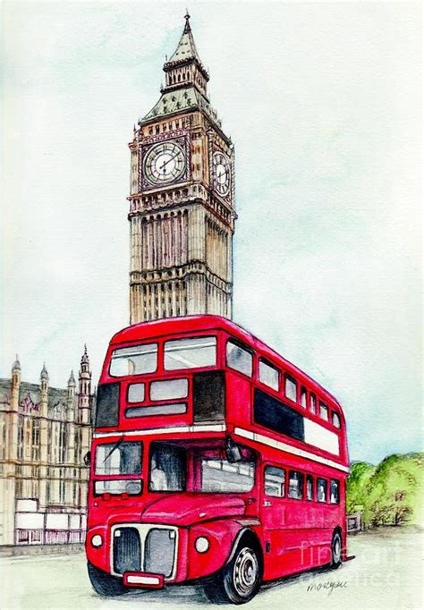 and big ben painting by fitzsimons
