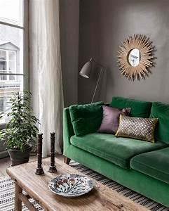 deco vert With tapis de yoga avec canape vert emeraude