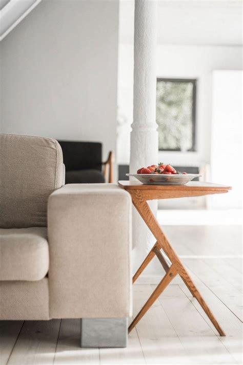canapé scandinave vintage mobilier scandinave vintage briques blanches et plancher