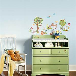 buy woodland creatures peel and stick wall decals from bed With place to buy woodland creatures wall decals