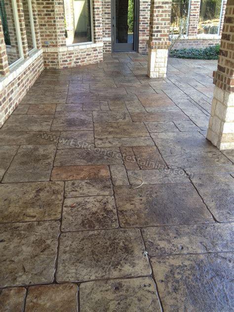 stamped concrete overlay pool deck frisco tx4   ESR