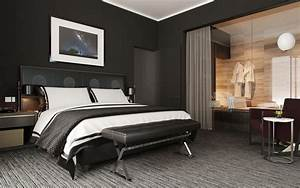41, Sophisticated, Black, Themed, Bedroom, Ideas