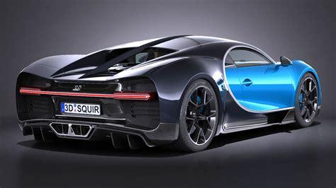 Bugatti la voiture noire 2019. Bugatti Chiron 2017 3D Model MAX OBJ 3DS FBX C4D LWO LW LWS - CGTrader.com