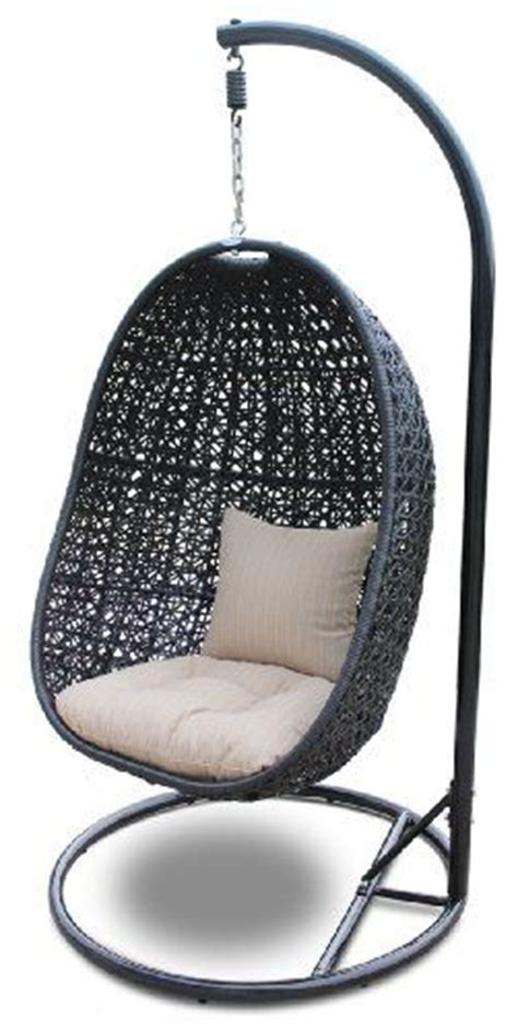hanging egg chair with stand garden furniture