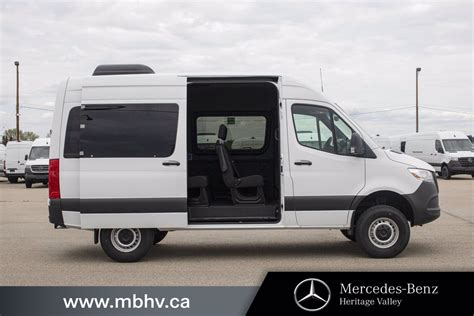 The mercedes sprinter lineup has been known for its capability as excellent commercial vehicles. New 2019 Mercedes-Benz Sprinter 4x4 Passenger Van 144 Full-size Passenger Van in Edmonton ...