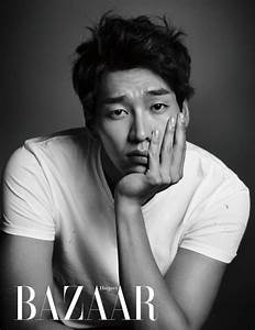 Kim Young Kwang Reveals His Six-Pack Abs in Harper's ...