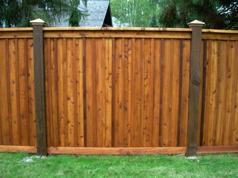 Unique Model Cedar Fence Panels