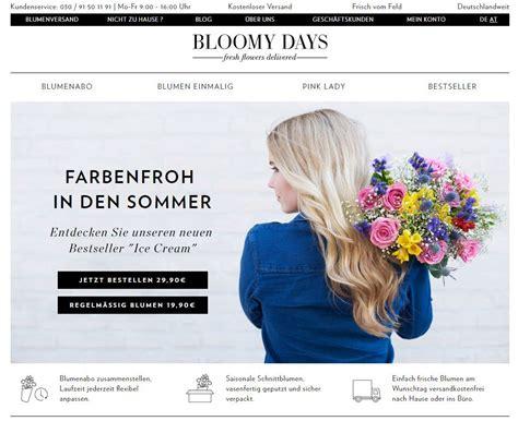 bloomy days gmbh fleurop 252 bernimmt bloomy days gmbh baumzeitung de