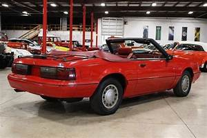 1992 Ford Mustang 90268 Miles Red Convertible 2.3 Liter I4 Automatic - Classic Ford Mustang 1992 ...