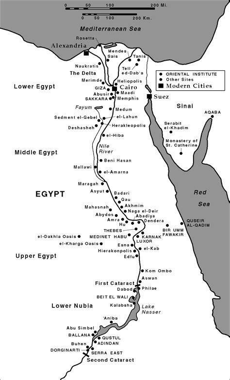 ancient  east site maps  oriental institute