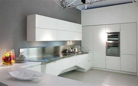 best italian kitchen design modern futuristic white italian kitchen design http 4468