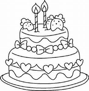 Dessin Gateau Anniversaire : coloriage anniversaire coloriages imprimer gratuits ~ Melissatoandfro.com Idées de Décoration