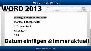 Word Datum Automatisch Berechnen : datum einf gen und automatisch aktualisieren microsoft word toptorials ~ Themetempest.com Abrechnung